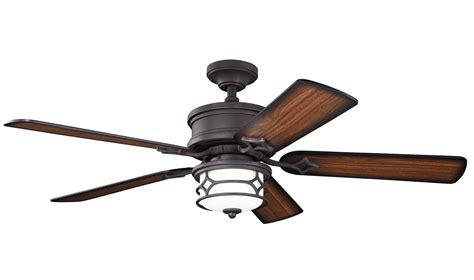kichler dbk distressed black  indoor ceiling fan