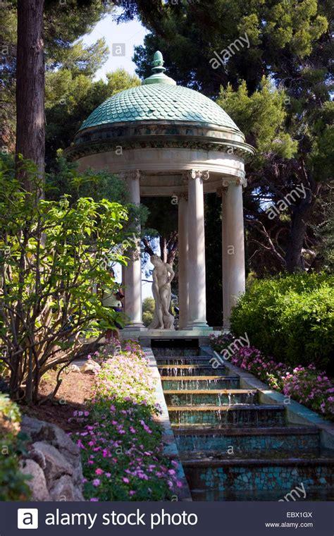 pavillon villa blanka garden of the villa ephrussi de rothschild with