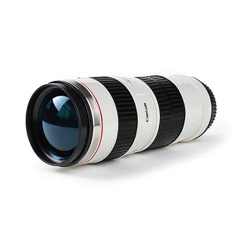 camara lens camera lens coffee mug canon 70 200mm replica