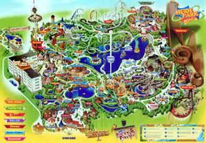 heide park 2010 park map