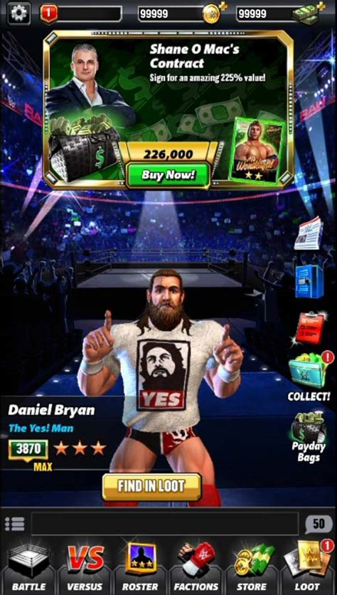 wwe card game mod apk wwe chions game hack mobile cheats android ios free