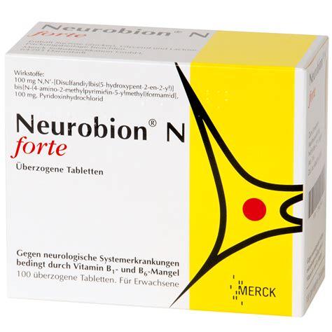 Neurobion Forte 10 Tablet neurobion n forte 252 berzogene tabletten 03962337