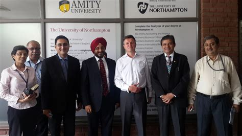 Amity Mba Uk by Of Northton Opens A New Office At Amity
