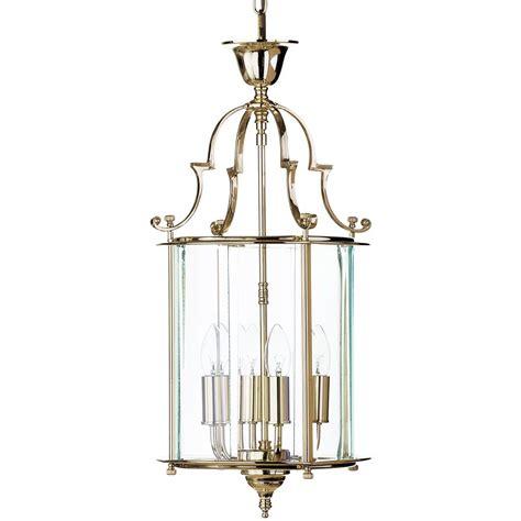 Ceiling Lantern Light Lancashire Medium 4 Light Ceiling Pendant Lantern Polished Brass From Litecraft
