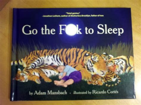 go the fuck to bed best baby book ever go the fuck to sleep the