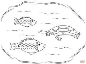aboriginal art lizard coloring pages coloring pages