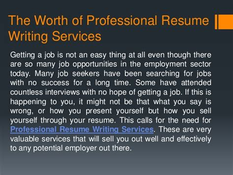 are resume writing services worth it are resume writing services worth it resume ideas