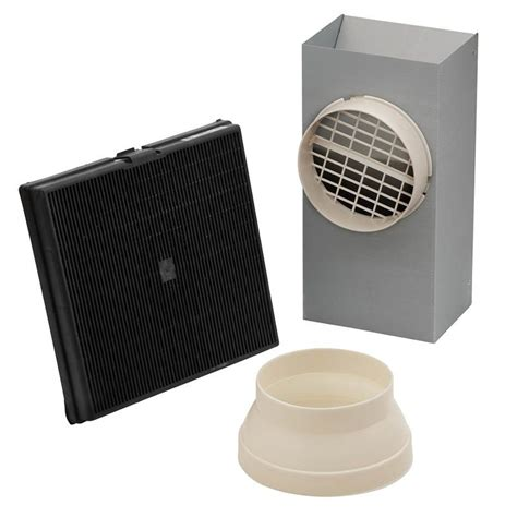 non ducted bathroom fan broan rk54 n a non ducted recirculating kit for e54000