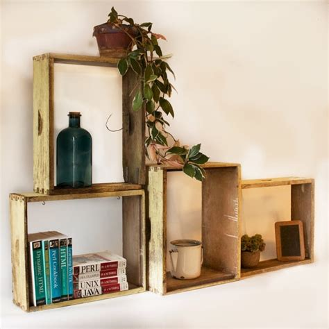 wood box shelves rustic box shelves boxes shelf wood shelf