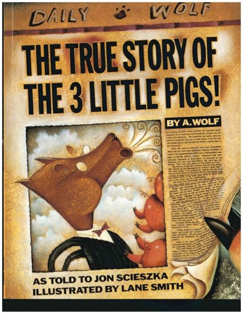 three stories true story of the three little pigs