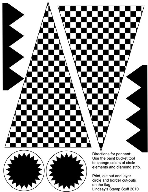 printable racing banner free checkered flag printables more upper sturt