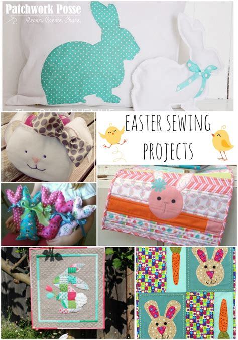 sewing projects home decor 24 easter sewing projects