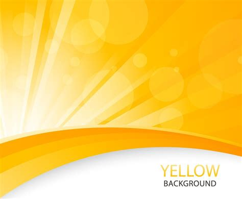 yellow abstract background vector art graphics