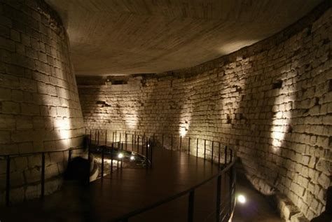 the basement of the louvre part of the building