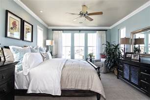 master bedroom light blue white and black relaxing