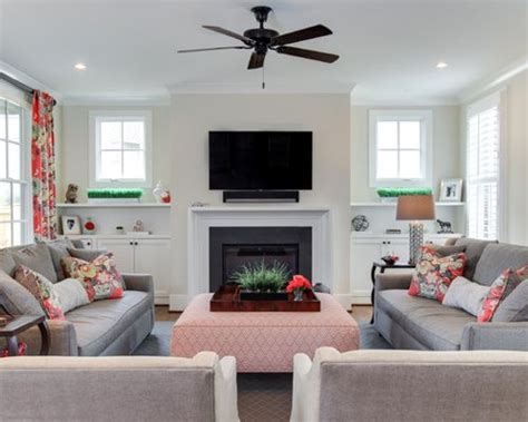 two couches in a living room two couch houzz
