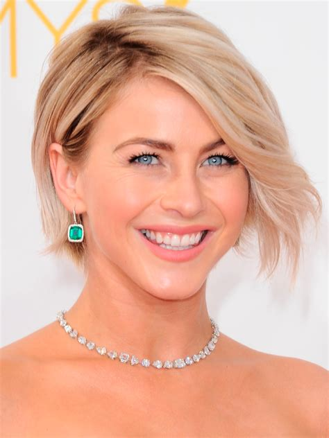 does julianne hough have thick hair cropped hair and lobs ways to make your short do more