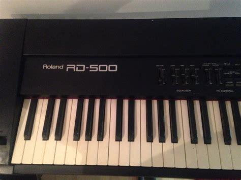Keyboard Roland Rd 500 roland rd 500 image 1529782 audiofanzine