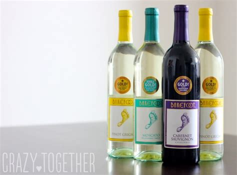 Barefoot Wine Giveaway On Facebook - personalized bridesmaid wine labels a giveaway