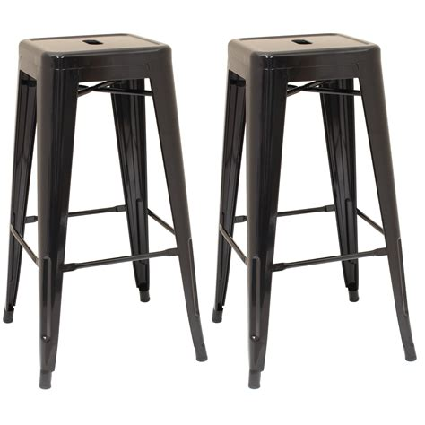 industrial style metal bar stools black metal stool cafe breakfast bar seat chair industrial