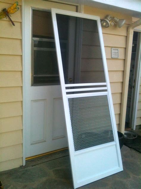 Patio Screen Door Installation by When The Screen Of Our Lives Slam Shut