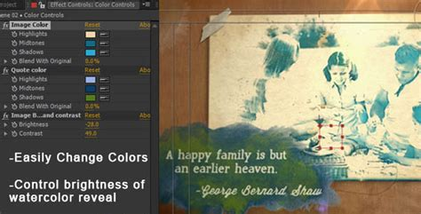 Videohive Watercolor Quotes Portrait 4496288downae Downae After Effects Quote Template