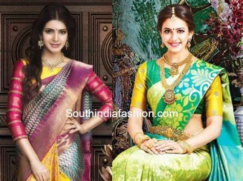 boat neck pattu blouses 10 trendy blouse designs for kanjeevaram sarees