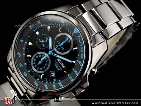 Seiko 5 Sports Snzj29k1 Black Ion Plated Bracelet Jam Pria Snzj29 buy seiko s chronograph black ion plated bracelet