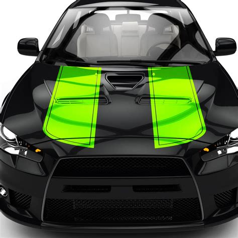 Aufkleber F R Motorhaube by Autoaufkleber Viperstreifen F 252 R Motorhaube Rennstreifen