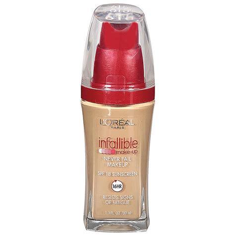 L Oreal Infallible Liquid Foundation l oreal infallible never fail makeup