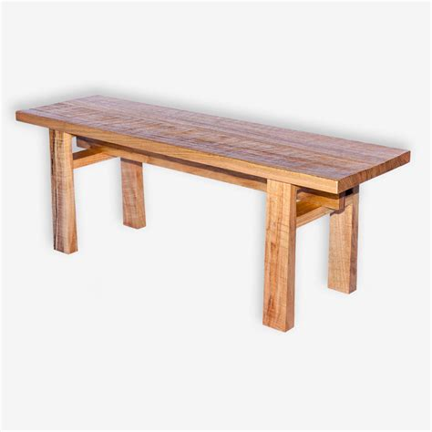 wood bench seat orientalis seats in marri treeton fine wood studio
