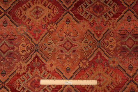 southwestern upholstery 10 yards chenille tapestry