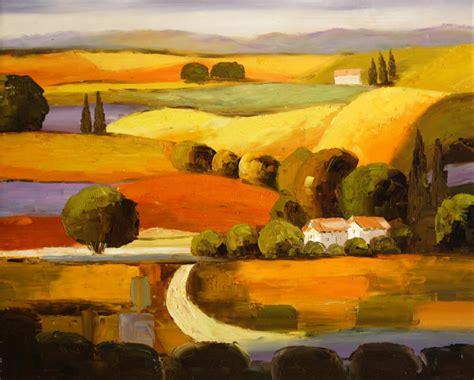cuadros de paisajes abstractos paisajes abstractos al oleo imagui