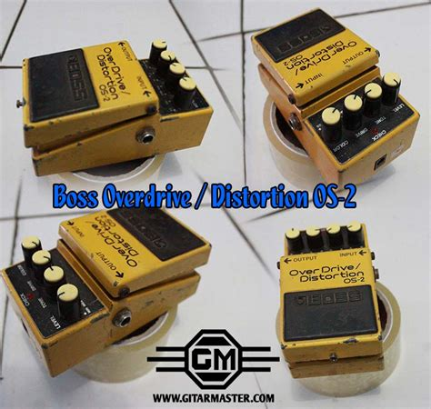Harga Overdrive Distortion efek overdrive distortion os 2 gitar master indonesia