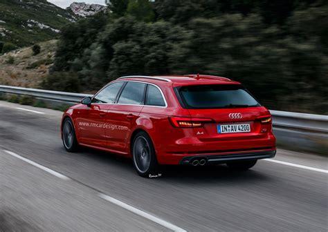Audi A4 Avant B9 by All New Audi A4 Avant B9 Facelift Rendered Already Carscoops