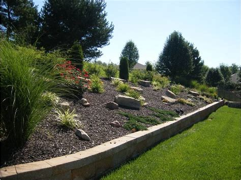small sloped backyard landscape ideas for small sloped front yard landscaping