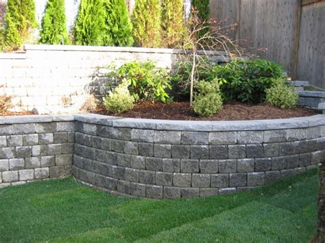 Stone Walls Landscaping Retaining Walls 101 How To Garden Block Wall Ideas