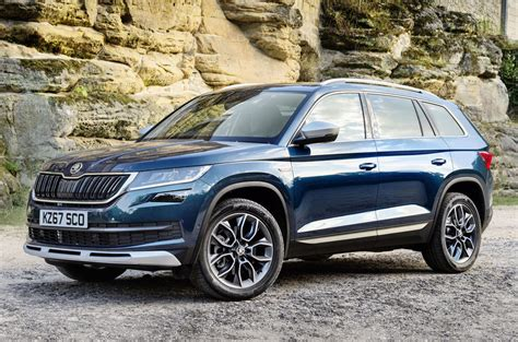 skoda cost 2017 skoda kodiaq scout more rugged model costs from 163