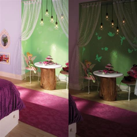 tinkerbell bedroom ideas ready set glow apply this bright new finish over any