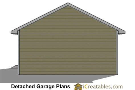 20 x 24 garage plans 20x24 1 car detached garage plans download and build