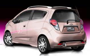 chevrolet spark pink out rear view1 photo 4