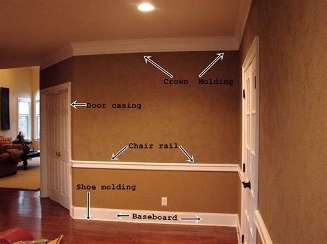 interior base trim ideas crown molding and trim ideas types of moldings types of