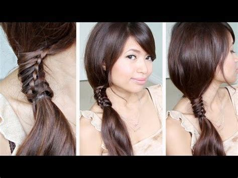 how to jazz up a ponytail with pictures wikihow jazz up a side ponytail with the chinese staircase braid