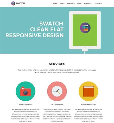 responsive web design layout generator 22 best images about 22 more of the best flat wordpress
