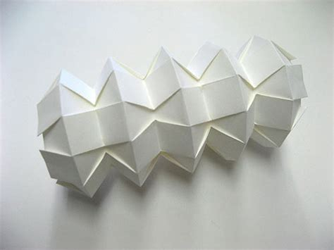 Origami 3d Shapes - 3d origami by jun mitani strictlypaper