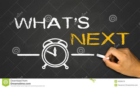 what s what s next stock photo image 48398476