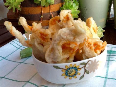 come cucinare i fiori di zucca fritti fiori di zucca fritti