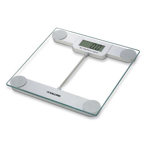 Modern Bathroom Scale by Kalorik Precision Digital Glass Bathroom Scale Ebs 39693