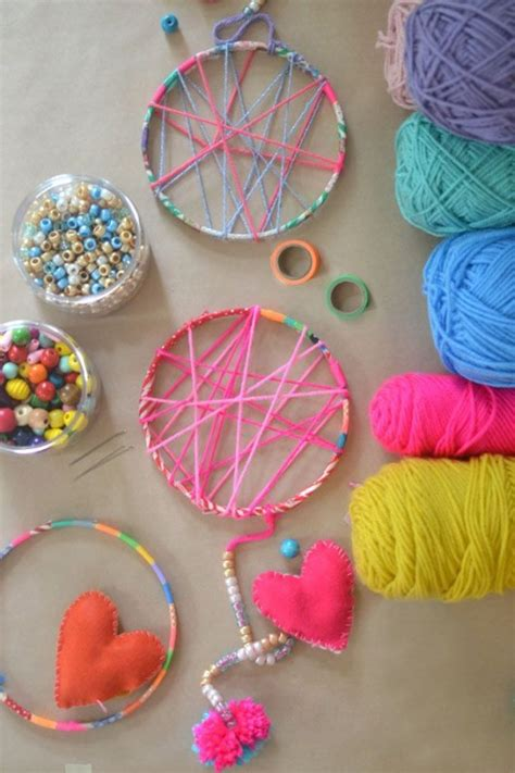 diy projects for kids diy crafts simple pretty yarn craft ideas for kids