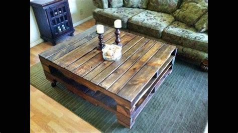 pallet wood coffee table recycled wood pallets furniture